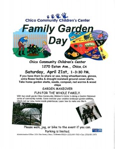 Family Garden Day Eaton 2012